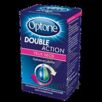 Optone Double Action Solution Oculaire Yeux Secs Fl/10ml à Chalon-sur-Saône
