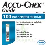 Accu-chek Guide Bandelettes 2 X 50 Bandelettes à Chalon-sur-Saône