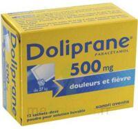 Doliprane 500 Mg Poudre Pour Solution Buvable En Sachet-dose B/12 à Chalon-sur-Saône