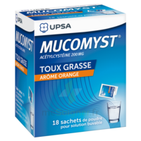 Mucomyst 200 Mg Poudre Pour Solution Buvable En Sachet B/18 à Chalon-sur-Saône