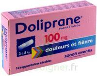 Doliprane 100 Mg Suppositoires Sécables 2plq/5 (10) à Chalon-sur-Saône