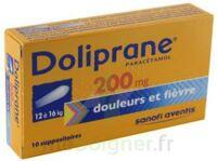 Doliprane 200 Mg Suppositoires 2plq/5 (10) à Chalon-sur-Saône