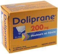 Doliprane 200 Mg Poudre Pour Solution Buvable En Sachet-dose B/12 à Chalon-sur-Saône