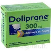 Doliprane 300 Mg Poudre Pour Solution Buvable En Sachet-dose B/12 à Chalon-sur-Saône