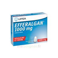 Efferalgan 1000 Mg Comprimés Pelliculés Plq/8 à Chalon-sur-Saône