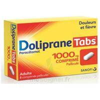 Dolipranetabs 1000 Mg Comprimés Pelliculés Plq/8 à Chalon-sur-Saône