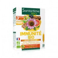 Santarome Bio Immunité Solution Buvable 20 Ampoules/10ml à Chalon-sur-Saône
