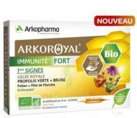 Arkoroyal Immunité Fort Solution Buvable 20 Ampoules/10ml à Chalon-sur-Saône