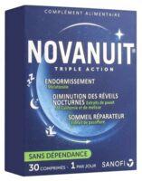 Novanuit Triple Action Comprimés B/30 à Chalon-sur-Saône