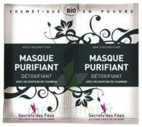 Secrets Des Fées Masque Purifiant Charbon 2sachets/6g à Chalon-sur-Saône