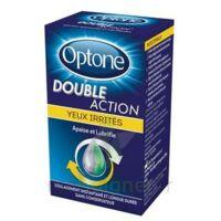 Optone Double Action Solution Oculaire Yeux Irrités Fl/10ml à Chalon-sur-Saône
