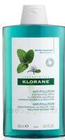 Klorane Menthe Aquatique Shampooing Détox 400ml à Chalon-sur-Saône