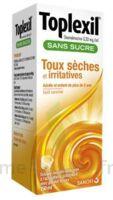 Toplexil 0,33 Mg/ml Sans Sucre Solution Buvable 150ml à Chalon-sur-Saône