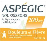 Aspegic Nourrissons 100 Mg, Poudre Pour Solution Buvable En Sachet-dose à Chalon-sur-Saône