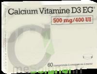 Calcium Vitamine D3 Eg 500 Mg/400 Ui, Comprimé à Croquer Ou à Sucer à Chalon-sur-Saône
