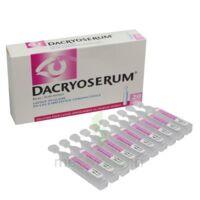 Dacryoserum Solution Pour Lavage Ophtalmique En Récipient Unidose 20unidoses/5ml à Chalon-sur-Saône