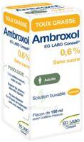 Ambroxol Eg Labo Conseil 0,6 %, Solution Buvable à Chalon-sur-Saône