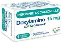 Doxylamine Eg Labo Conseil 15 Mg, Comprimé Pelliculé Sécable à Chalon-sur-Saône