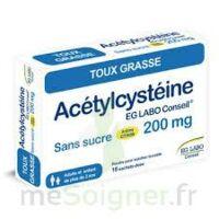 Acetylcysteine Eg Labo Conseil 200 Mg Sans Sucre, Poudre Pour Solution Buvable En Sachet-dose à Chalon-sur-Saône