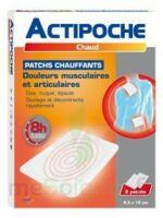 Actipoche Patch Chauffant Douleurs Musculaires B/2 à Chalon-sur-Saône
