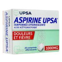 Aspirine Upsa Tamponnee Effervescente 1000 Mg, Comprimé Effervescent à Chalon-sur-Saône