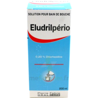 Eludrilperio 0,2 %, Solution Pour Bain De Bouche à Chalon-sur-Saône
