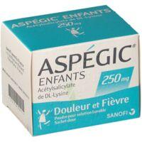 Aspegic Enfants 250, Poudre Pour Solution Buvable En Sachet-dose à Chalon-sur-Saône