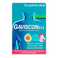 Gavisconell Suspension Buvable Sachet-dose Menthe Sans Sucre 12sach/10ml à Chalon-sur-Saône