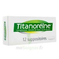 Titanoreine Suppositoires B/12 à Chalon-sur-Saône