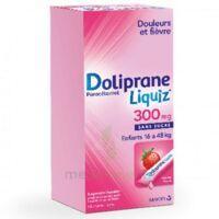 Dolipraneliquiz 300 Mg Suspension Buvable En Sachet Sans Sucre édulcorée Au Maltitol Liquide Et Au Sorbitol B/12 à Chalon-sur-Saône