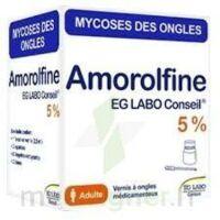 Amorolfine Eg 5 % V Ongles Médicamenteux 1fl/2,5ml+10 Spat à Chalon-sur-Saône