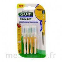 Gum Trav - Ler, 1,3 Mm, Manche Jaune , Blister 4 à Chalon-sur-Saône