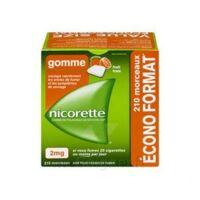 Nicorette 2 Mg Gomme à Mâcher Médicamenteuse Sans Sucre Fruits Plq/210 à Chalon-sur-Saône
