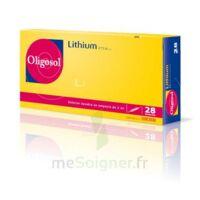 Oligosol Lithium Solution Buvable En Ampoule Ou En Récipient Unidose 28amp/2ml à Chalon-sur-Saône