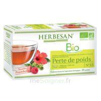 Herbesan Maté Bio Tisane Perte De Poids 20 Sachets à Chalon-sur-Saône