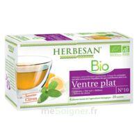 Herbesan Infusion Bio Tisane Ventre Plat 20 Sachets à Chalon-sur-Saône