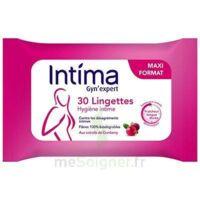 Intima Gyn'expert Lingettes Cranberry Paquet/30 à Chalon-sur-Saône