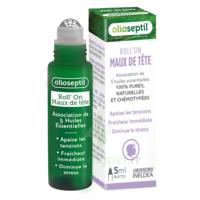 Olioseptil Huile Essentielle Maux De Tête Roll-on/5ml à Chalon-sur-Saône