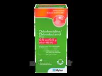 Chlorhexidine/chlorobutanol Mylan 0,5 Ml/0,5 G Pour 100 Ml, Solution Pour Bain De Bouche En Flacon à Chalon-sur-Saône