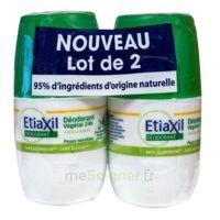 Etiaxil Végétal Déodorant 24h 2roll-on/50ml à Chalon-sur-Saône