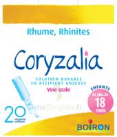 Boiron Coryzalia Solution Buvable Unidose B/20 à Chalon-sur-Saône