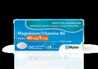 Magnesium/vitamine B6 Mylan 48 Mg/5 Mg, Comprimé Pelliculé à Chalon-sur-Saône