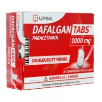 Dafalgantabs 1 G Cpr Pell Plq/8 à Chalon-sur-Saône
