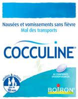 Boiron Cocculine Comprimés Orodispersibles B/40 à Chalon-sur-Saône